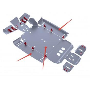 Защита кратера и порогов Rival для CF Moto UTV Z6 2011-, CF.0050-2