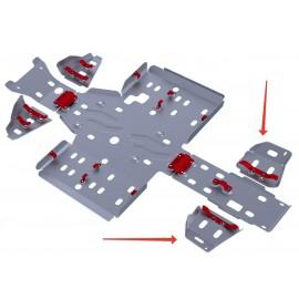 Защита задних рычагов Rival для Stels ATV 700 GT/600 GT/800 GT MAX 2012-, 4.6701.4-5