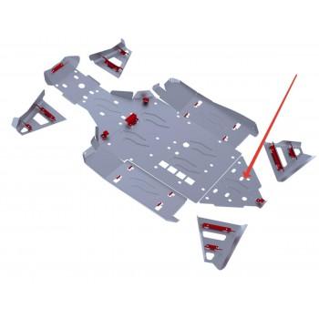 Защита заднего редуктора Rival для BRP (Can-Am) Maverick 1000 2013-, 4.7207.2-3