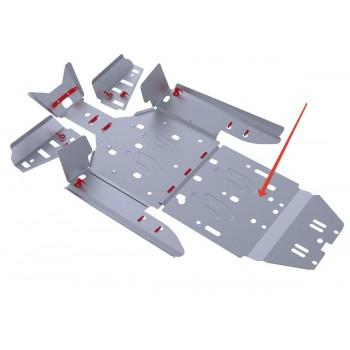 Защита заднего редуктора Rival для Polaris UTV RZR XP 900 EFI 2011-2014, 4.7405.2-3