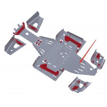 Защита заднего редуктора Rival для Polaris Scrambler ATV 1000 2013-, 4.7423.1-4