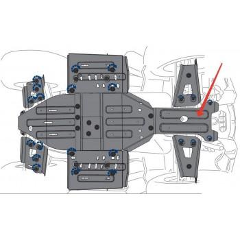 Защита переднего редуктора Rival для Polaris Sportsman XP 1000 2016-, 444.7439.1-1