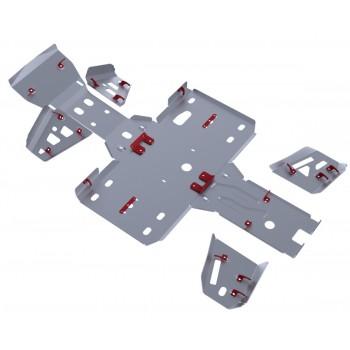 Комплект защит днища Rival для BaltMotors Jumbo 700 2012-, 444.8502.2