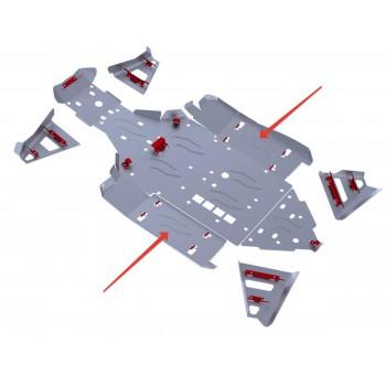 Защита порогов Rival для BRP (Can-Am) Maverick 1000 2013-, 4.7207.2-4