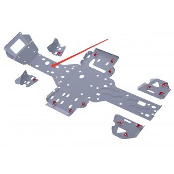 Защита переднего редуктора Rival для RM 500 2013-, 4.7705.3-2