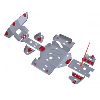 Защита заднего редуктора Rival для Yaguzi ATV DF700 2012-, 4.8101.1-4
