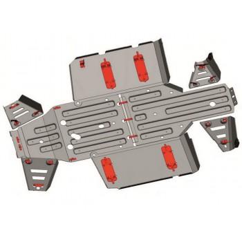 Комплект защит днища Rival для Polaris UTV Ranger 570 2017-, 444.7440.1