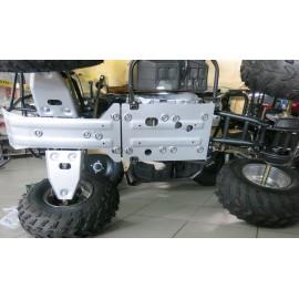 Комплект защит днища Rival для Irbis ATV 150U 2014-, 444.9802.1