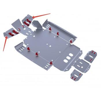 Защита передних рычагов Rival для CF Moto UTV Z6 2011-, CF.0050-4