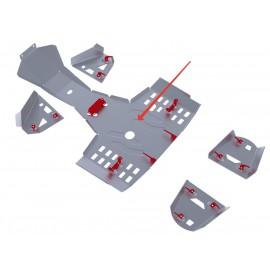 Защита картера Rival для Stels ATV 400 Hunter 2013-, 4.6716.1-2