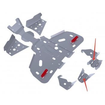 Защита заднего редуктора Rival для BRP (Can-Am) Outlander ATV 400 2011-, 4.7203.2-3