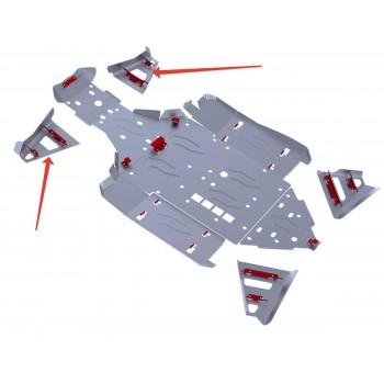 Защита передних рычагов Rival для BRP (Can-Am) Maverick 1000 2013-, 4.7207.2-5