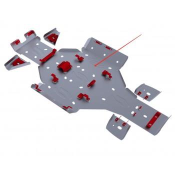 Защита картера и порогов Rival для Artic Cat UTV Prowler 700 HDX 2011-, 4.7305.1-2