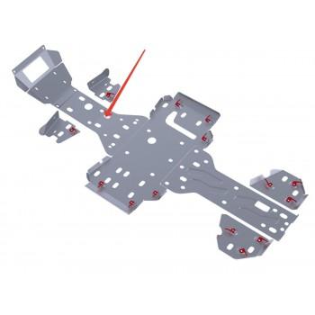 Защита переднего редуктора Rival для RM 500 2011-2012, 4.7703.1-1