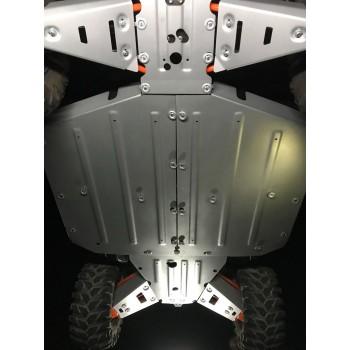 Комплект защит днища Rival для Polaris Ranger XP 1000 2017-, 444.7448.1
