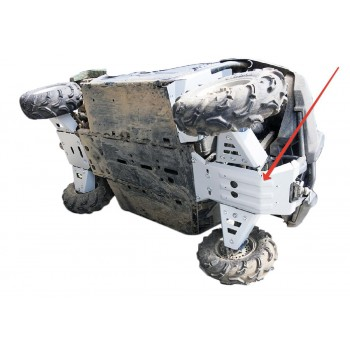 Защита переднего редуктора Rival для Yamaha UTV Viking 2013-, 4.7112.2-1