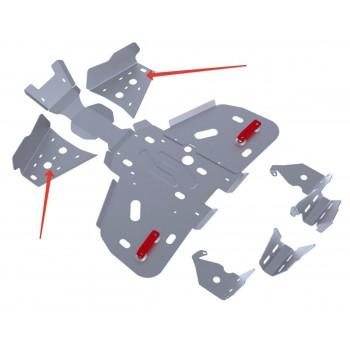 Защита передних рычагов Rival для BRP (Can-Am) Outlander ATV 400 2011-, 4.7203.2-5