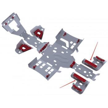 Защита задних рычагов Rival для Artic Cat ATV 1000/700/550/500 i/XT/Ltd 2011-2015, 4.7312.1-6