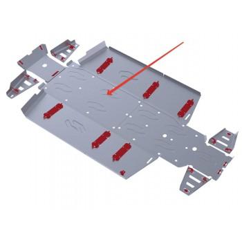 Защита картера Rival для Polaris UTV Ranger Crew 800 2013-2014, 4.7416.1-2