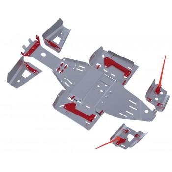 Защита задних рычагов Rival для Polaris Scrambler ATV 1000 2013-, 4.7423.1-7