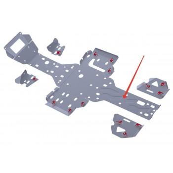 Защита заднего редуктора Rival для RM 500 2013-, 4.7705.3-4