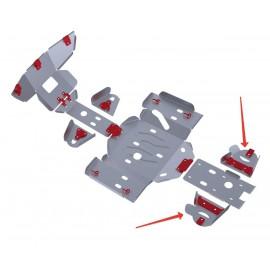 Защита задних рычагов Rival для Yaguzi ATV DF700 2012-, 4.8101.1-6
