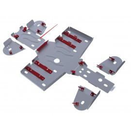 Защита заднего редуктора Rival для Adly 600 U 2011-, 4.8301.1-3