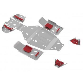 Комплект защит днища Rival для Stels ATV 500 GT 2010-, 444.6707.3