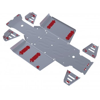Комплект защит днища Rival для Polaris UTV Ranger 400 2013-2014, 444.7415.1