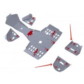 Защита задних рычагов Rival для Stels ATV 400 Hunter 2013-, 4.6716.1-4