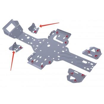 Защита передних рычагов Rival для RM 500 2013-, 4.7705.3-5
