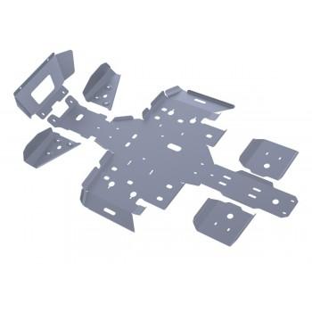 Комплект защит днища Rival для Polaris ATV Sportsman touring 500 H.O. (2-местный) 2011-2013, 444.7403.2