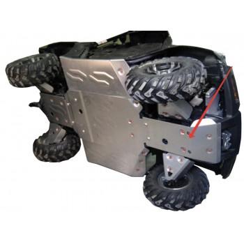 Защита переднего редуктора Rival для CF Moto UTV 500-3 2009-, 444.P6819.1-1