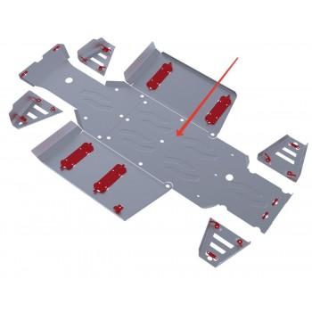 Защита картера Rival для Polaris UTV Ranger 400 2013-2014, 4.7415.1-2