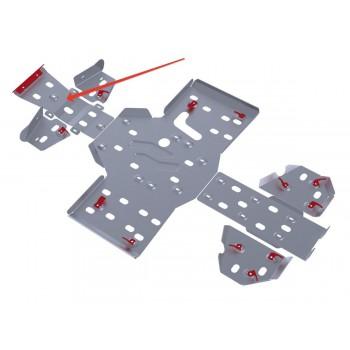 Защита переднего редуктора Rival для RM Gamax AX 600 2010-, 4.7701.1-1