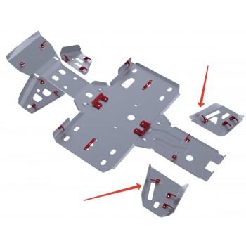 Защита задних рычагов Rival для BaltMotors Jumbo 700 2012-, 4.8502.2-5