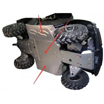 Защита кратера и порогов Rival для CF Moto UTV 500-3 2009-, 444.P6819.1-2