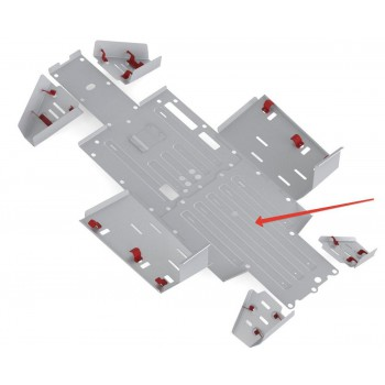 Защита переднего редуктора Rival для Honda UTV Pioneer 700 2015-, 4.2108.1-1