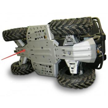 Защита заднего редуктора Rival для CF Moto ATV X4 2016-, 4.6868.1-3
