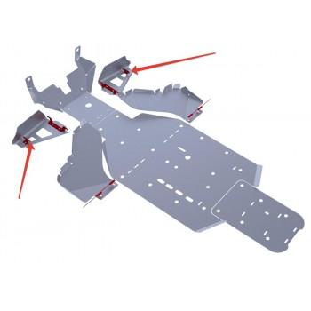 Защита передних рычагов Rival для BRP (Can-Am) Commander 1000 2011-2014, 4.7204.2-5