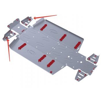 Защита передних рычагов Rival для Polaris UTV Ranger Crew 800 2013-2014, 4.7416.1-7
