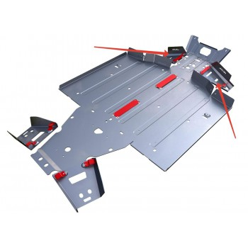 Защита передних рычагов Rival для Polaris UTV Ranger XP 900/1000 2011-, 4.7430.1-4