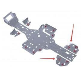 Защита задних рычагов Rival для RM 500 2011-2012, 4.7703.1-5