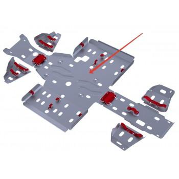 Защита картера и порогов Rival для Stels ATV 700 GT/600 GT/800 GT MAX 2012-, 4.6701.4-2