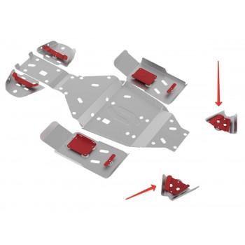 Защита передних рычагов Rival для Stels ATV 500 GT 2010-, 4.6707.3-4