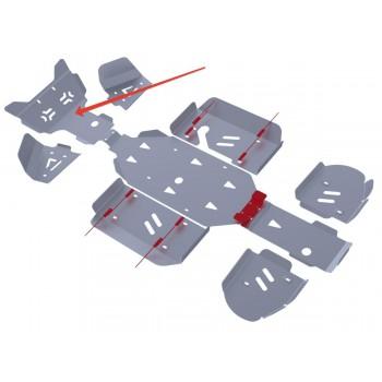 Защита радиатора Rival для Kawasaki ATV KVF-750/650 2011-2012, 4.6901.1-1
