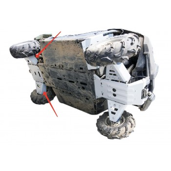 Защита задних рычагов Rival для Yamaha UTV Viking 2013-, 4.7112.2-6