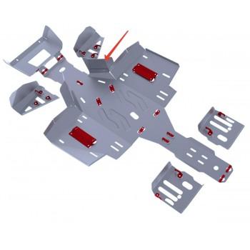 Защита картера (часть 3) Rival для Polaris Sportsman touring ATV 570 2014-2015, 4.7414.2-6