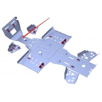 Защита переднего редуктора Rival для RM Рысь 500 2014-, 4.7706.3-1