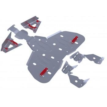Комплект защит днища Rival для BRP (Can-Am) Renegade G1 ATV 2011-2012, 444.7201.1